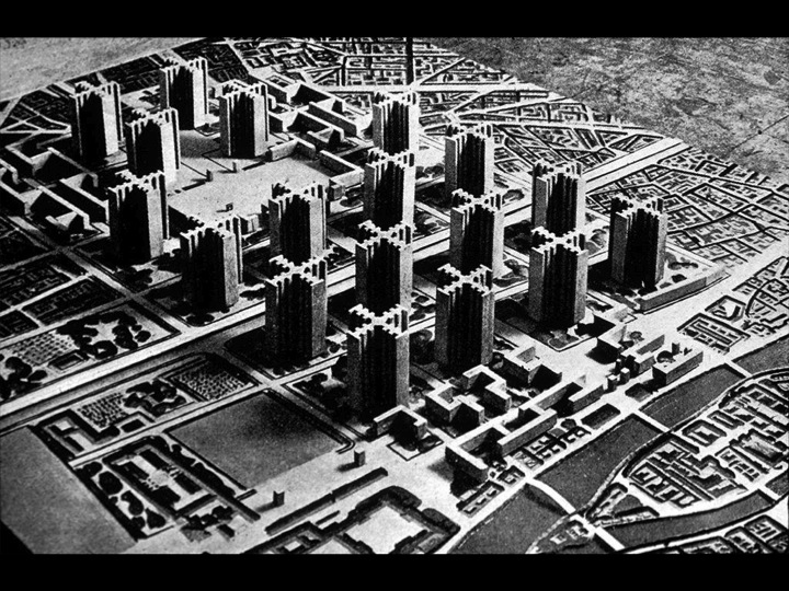 utopie Paris plan voisin le Corbusier