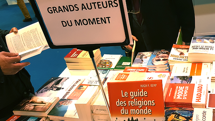 Salon du livre 2016 Paris
